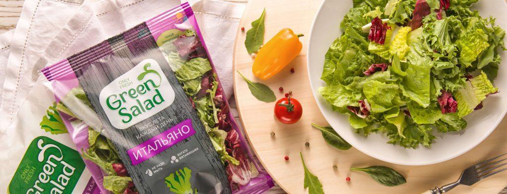 Доставка овощей Грин Салат