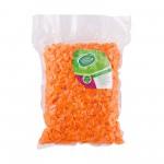 Морковь свежая нарезанная кубиком